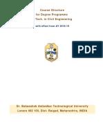 Syllabus BTech Civil 2019 1
