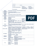MKC 710 Especificaciones