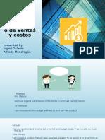 Proyectar El Presupuesto de Ventas y Costos