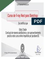 Certificate VRAY NEXT