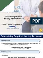 FTE Computation_Fiscal Management in Nursing Administration v3