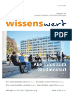 wissenswert Juli 2019 - Magazin der Leopold-Franzens-Universität Innsbruck