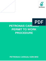 WW ALL S 05 002 - PETRONAS Carigali Permit to Work Procedure Rev 4 July 2013