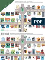 espanol mapa de la ciudad ejercicios