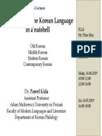 The History of the Korean Language.pdf