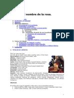 El nombre de la rosa  Guía