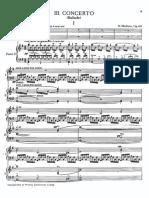 Метнер Концерт № 3 (Баллада)