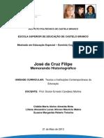 Monografia-josé Da Cruz Filipe