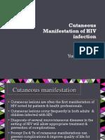 cutaneous manifestation of hiv.pptx