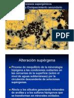 Clase Oxidacion y Enriquecimiento Supergénico (1)