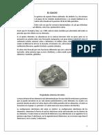 EL CALCIO Informe Final