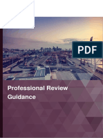 Professional Review Guidance Mar 2019