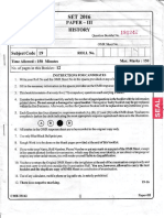 Set 2016 Paper-111 History