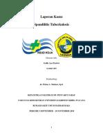 KASUS SPONDILITIS TB
