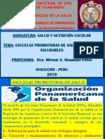 03 CLASE 03 Escuelas Promotoras de Salud Escuelas Saludables (1)