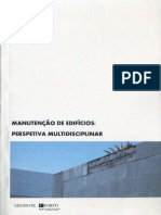 (Re)conhecimento e manutenção dos edifícios da primeira metade do Século XX.