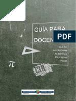 Guia de docentes Pais Vasco