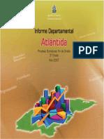 Informe 2007 Atlantida Grado 03