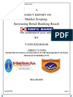 Desk Report on HDFC Bank (Repaired)