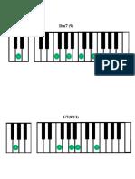 IIm7(9) V7 (13) I7M(9) I6 - com tensão - completo