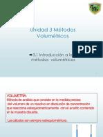 3.1 Métodos Volumétricos