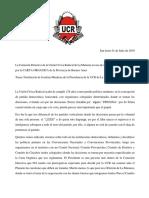 Plenario UCR La Matanza