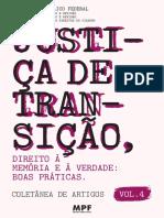 Justiça de Transição - Direito à Memória e à Verdade Boas Práticas - 2018.pdf