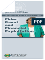 Elder Fraud and Financial Exploitation