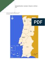 Divisao administrativa Portugal