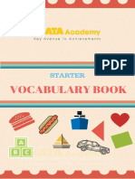 Vocabulary Starter Book KATA (37-40)