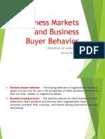Business Markets and Business Buyer Behavior Upload