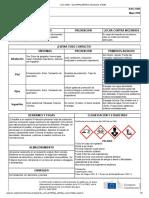 Icsc 0352 - Glutaraldehído (Disolución Al 50%)