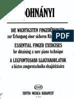 Dohnanyi - Piano - Essential Finger Exercises.pdf