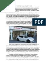 Caso 11 Estrategia de Produccion de Toyota