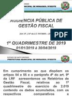 Relatorio Lrf 1º Quad 2019