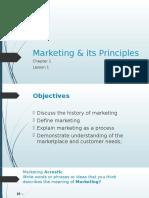 Ch1L1 Mktg Principles