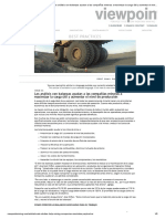 Los Análisis Con Balanzas Ayudan a Las Compañías Mineras a Maximizar La Carga Útil y Aumentar El Nivel de Producción