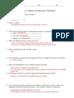 W-soltution Colloid Suspension Key