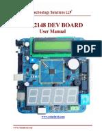 User Manual LPC2148 DEV