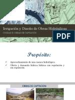 IRRIGACION Y DISEÑO DE OBRAS HIDRAULICAS