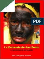 Folleto Parranda de San Pedro