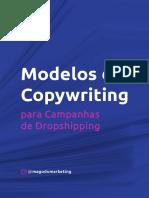 Modelos de Copywriting Para Campanhas de Dropshipping