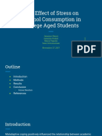 the effect of stress on alcohol consumption in college aged students