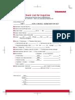 enquirer sheet