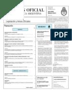 Boletin Oficial 20-10-10 - Primera Seccion