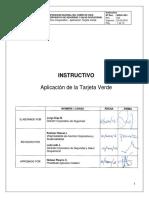 SIGO-I-001 - Aplicación Tarjeta Verde