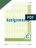 c Assignment