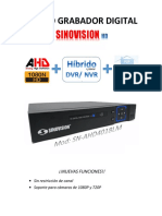 Manual DVR Sn Ahd4018lm