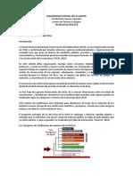Categorias de Clasificacion UICN Especies en Ecuador