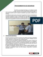 Normas y Procedimientos de Seguridad